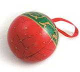 马口铁圣诞球铁盒定制