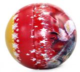 圣诞节球形糖果铁罐