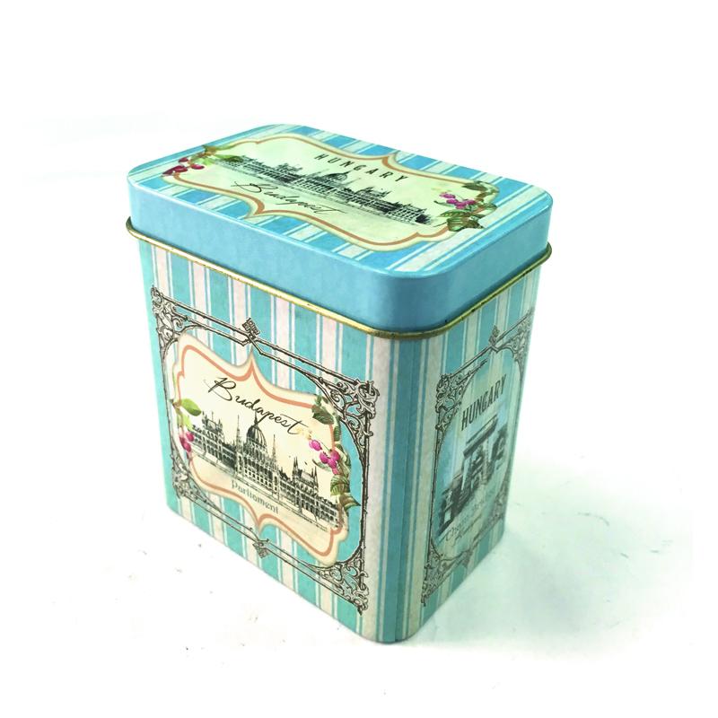 长方形口香糖包装铁盒生产厂家