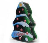 圣诞树马口铁盒订做
