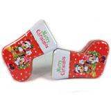 马口铁圣诞袜子铁罐定制工厂