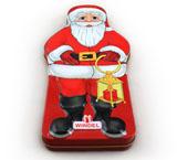 圣诞老人巧克力铁盒子厂家