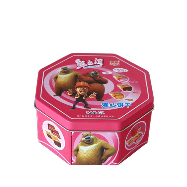 厂家生产定做马口铁饼干包装盒