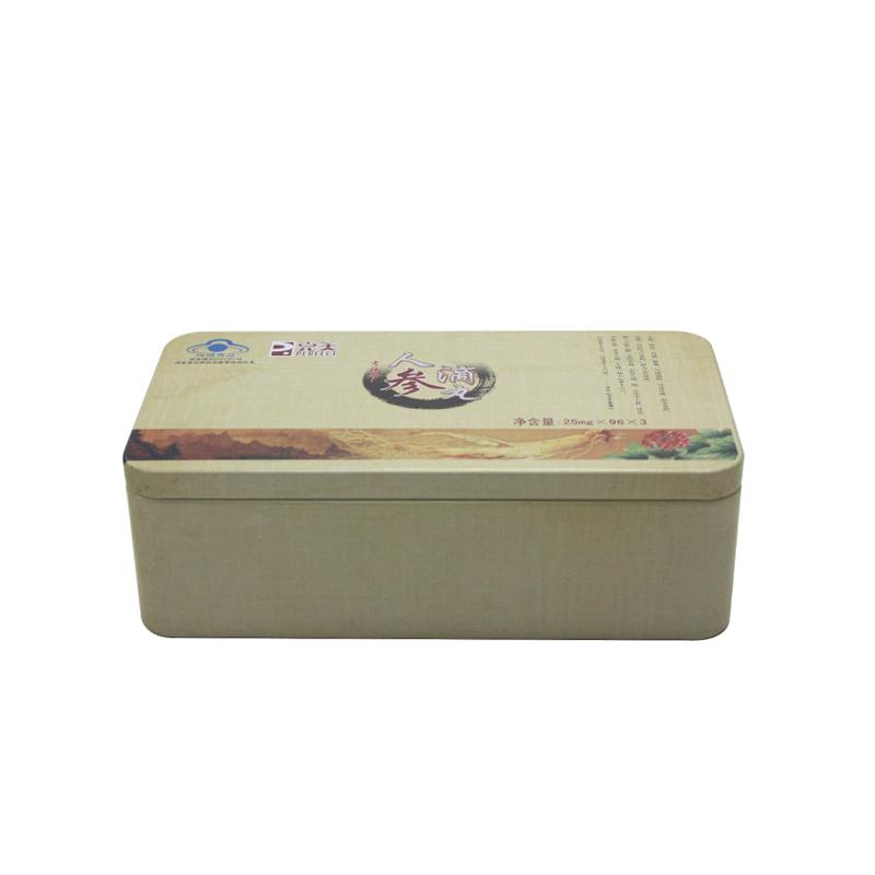 高档玛咖包装铁盒生产定做厂家