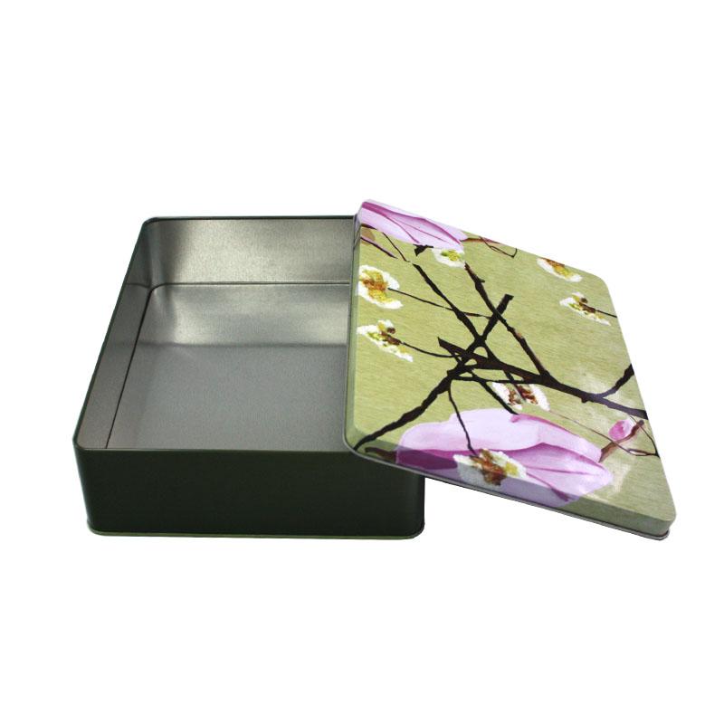 长方形开窗鹿茸马口铁盒生产定做工厂