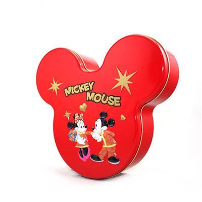 迪士尼米奇造型糖果铁盒