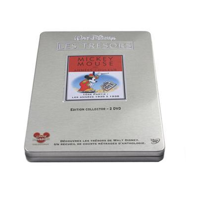 开心米奇和唐老鸭动画光盘铁盒