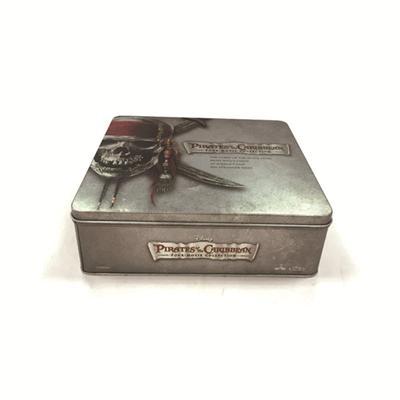 方形迪士尼网络游戏铁盒