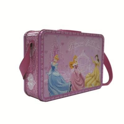 公主玩具系列带肩带手挽罐