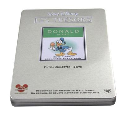 唐老鸭系列动漫光盘铁盒