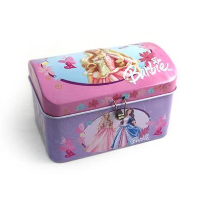 芭比公主带U形锁存钱罐
