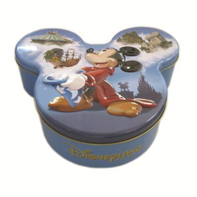 米奇造型巧克力包装铁盒