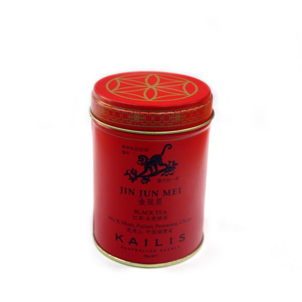 双盖式圆筒红茶铁盒制罐工厂