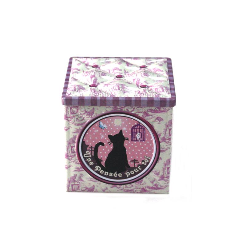 精美方形咖啡包装铁盒生产公司