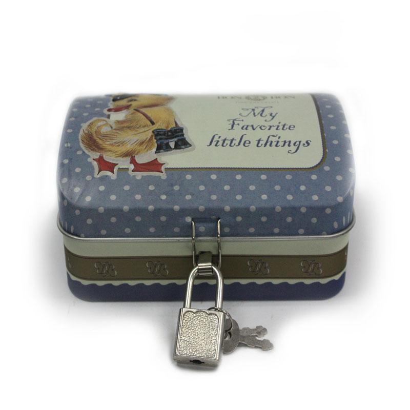 厂家生产定做巧克力马口铁包装铁盒