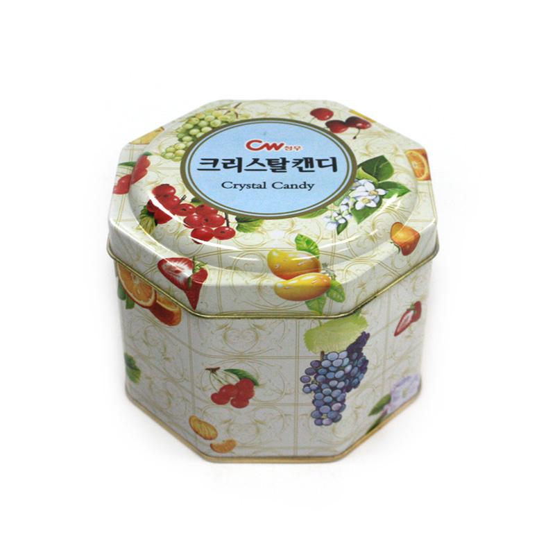 八角形糖果马口铁盒生产定做工厂