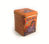无铰式方形巧克力马口铁盒生产厂