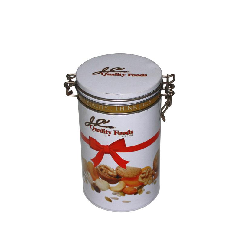 圆形密器糖果马口铁盒定做生产厂家