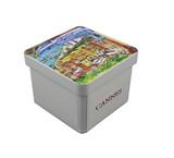 广东工厂定做小号正方形手工皂铁盒子