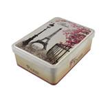 方形带铰蛋卷马口铁盒制罐厂